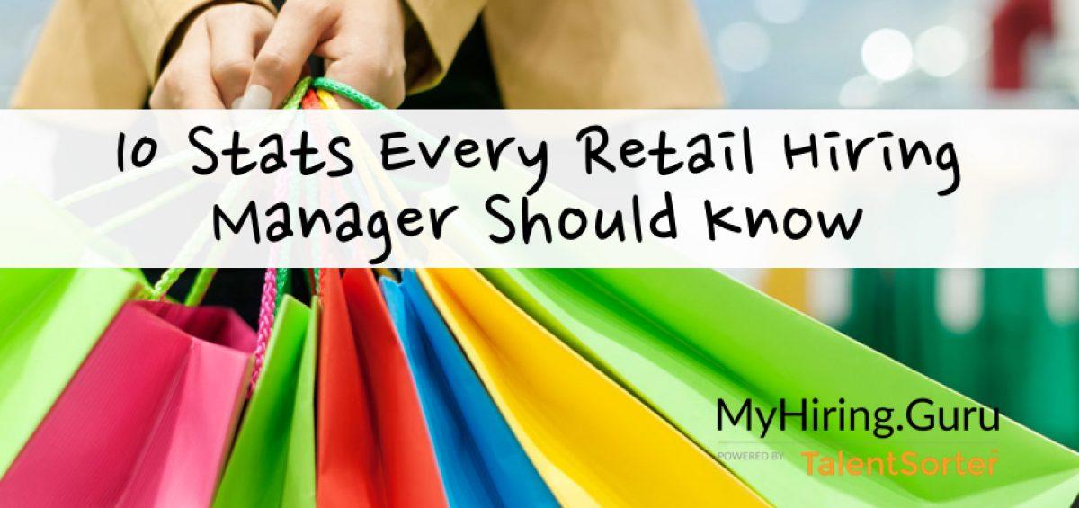 retail hiring stats