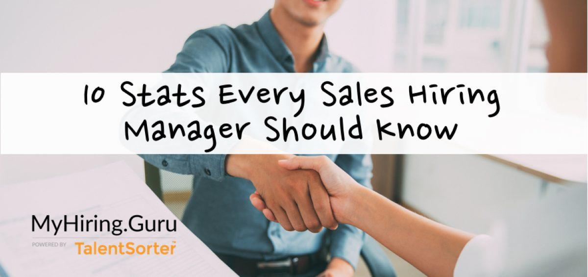 sales hiring statistics